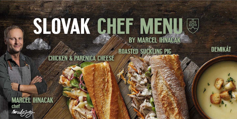 Slovak Chef menu