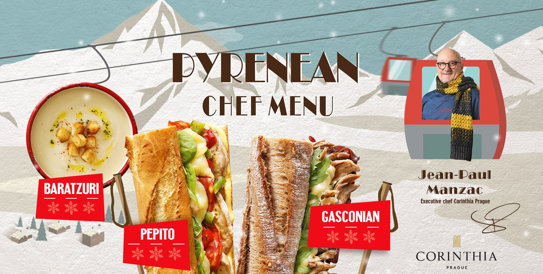 Pyrenean Chef menu