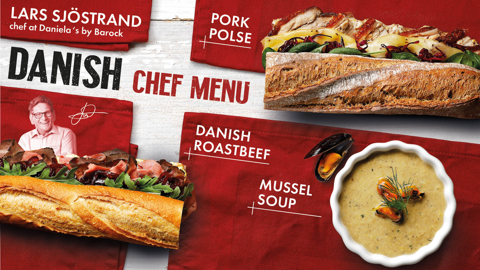 Danish Chef menu