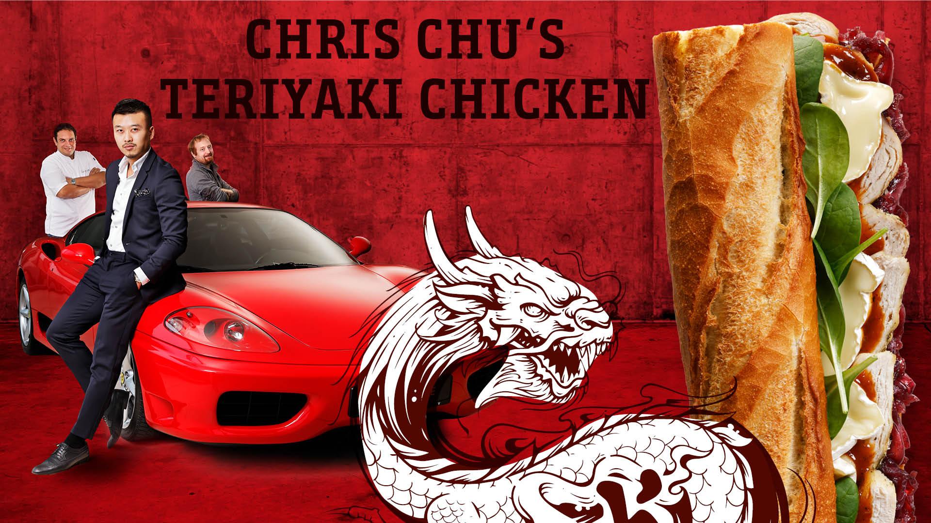 Chris Chu's teriyaki chicken