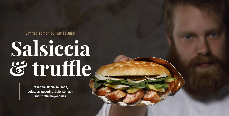 Salsiccia & truffle